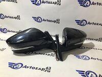 Боковые зеркала от Гранты механические с повторителем на ВАЗ 2108-21099, 2113-2115