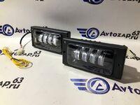 Светодиодные противотуманные фары Sal-Man (ближний и дальний свет) на ВАЗ 2110-2112, 2108-2115