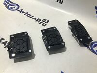 Накладки на педали Type R черные с резинкой