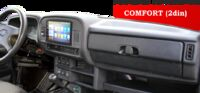 Панель приборов Комфорт 2DIN (Под щиток комбинации приборов 2110) на Лада Нива 4х4