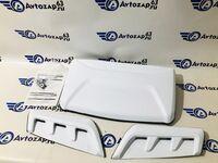 Комплект белых накладок вентиляции салона Аэроэффект Оптимал на Лада 4х4 Нива