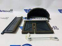 Комплект заслонок отопителя на Приору с кондиционером Hella