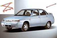 Усилители жесткости кузова на ВАЗ 2110-2112