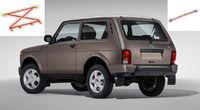 Усилители жесткости кузова на Нива и Chevrolet Niva