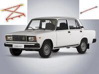 Усилители жесткости кузова на ВАЗ 2101-2107 Классика